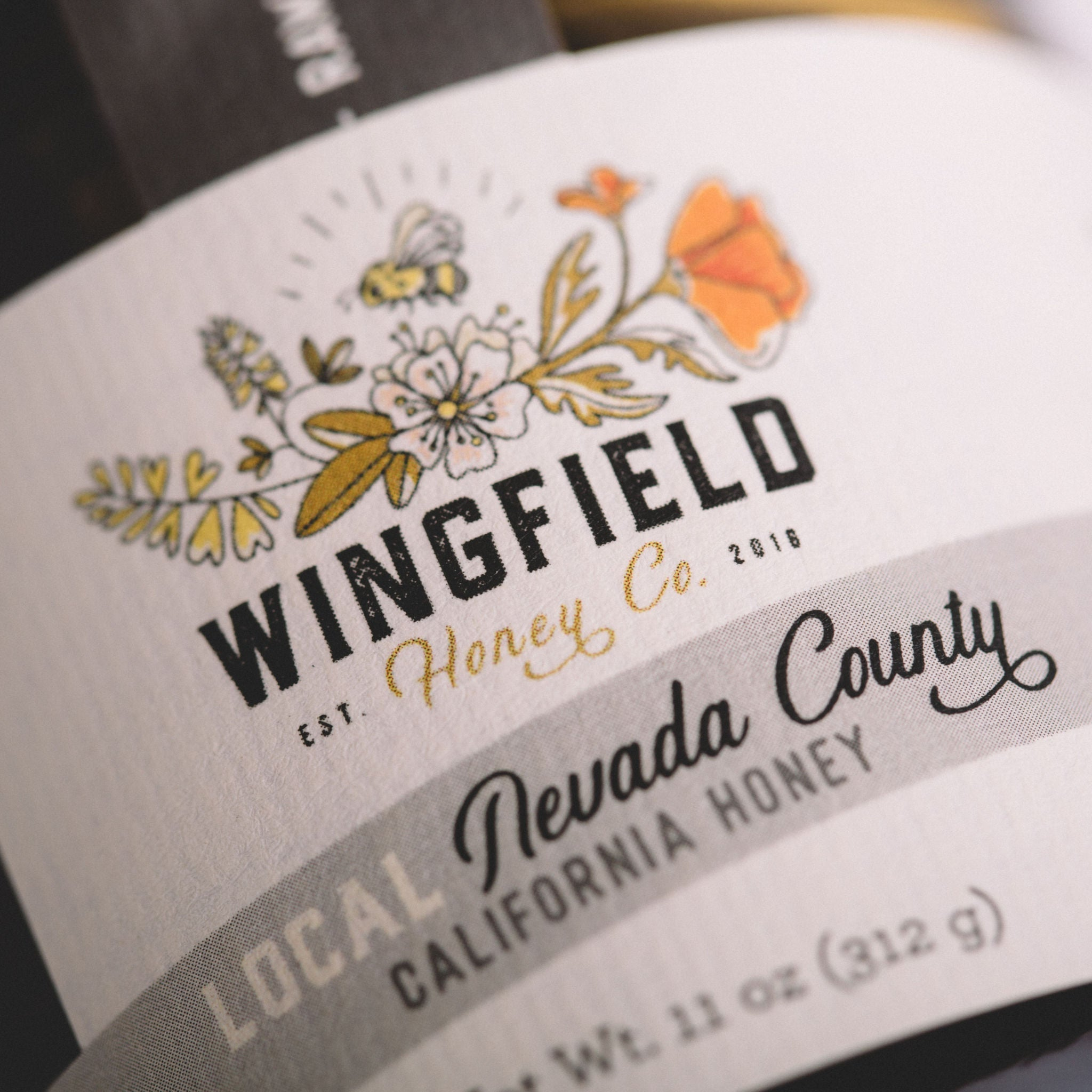 WINGFIELD HONEY CO. || HONEY