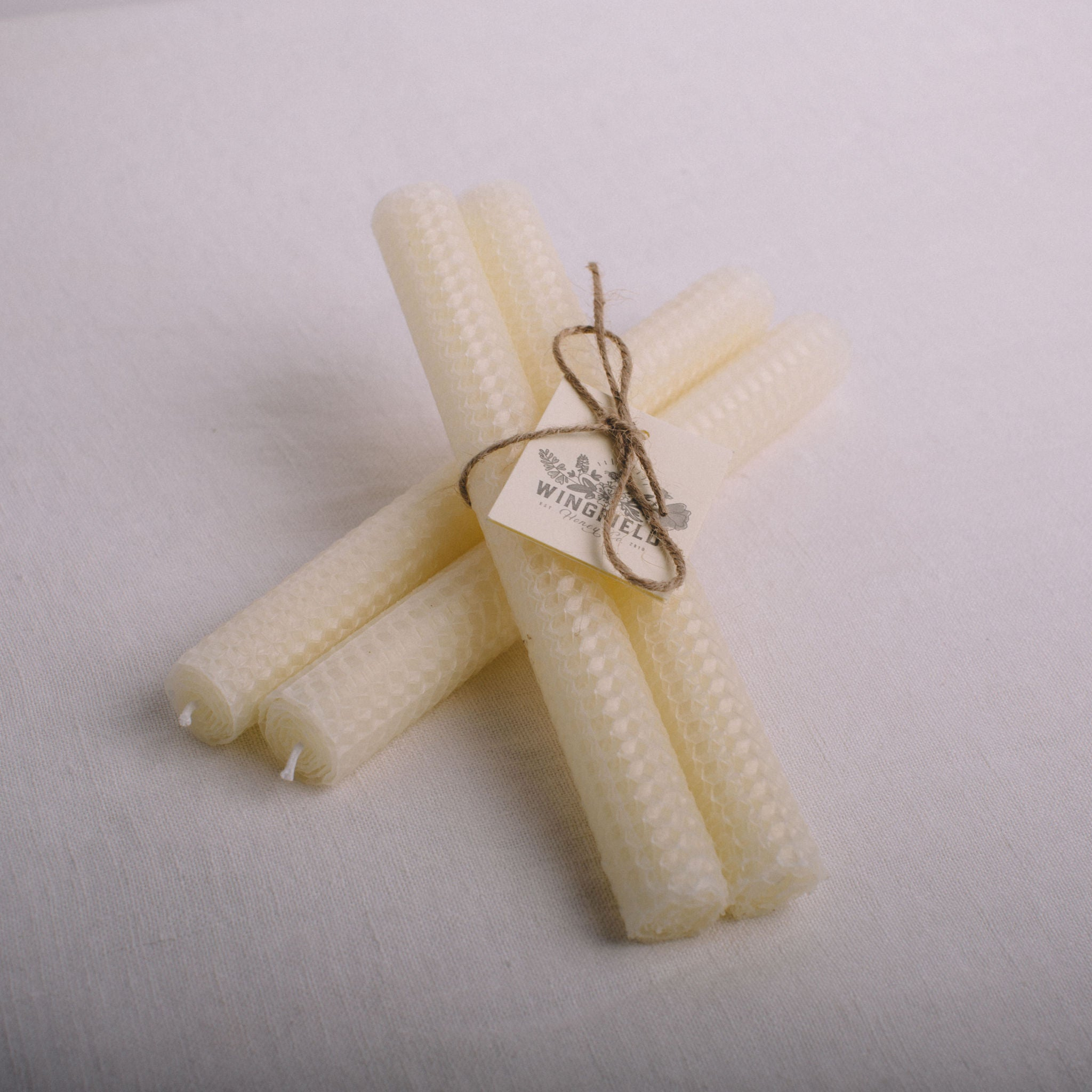 WINGFIELD HONEY CO. || BEESWAX CANDLES