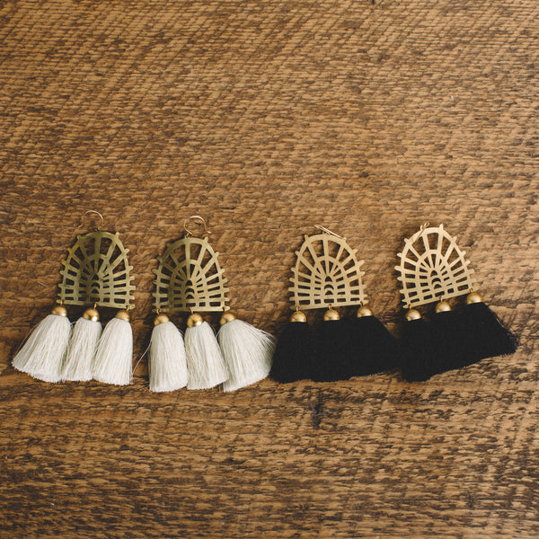 THE SALT EMPIRE || MANON TASSEL EARRING