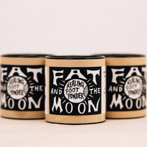FAT AND THE MOON || HEALING FOOT POWDER