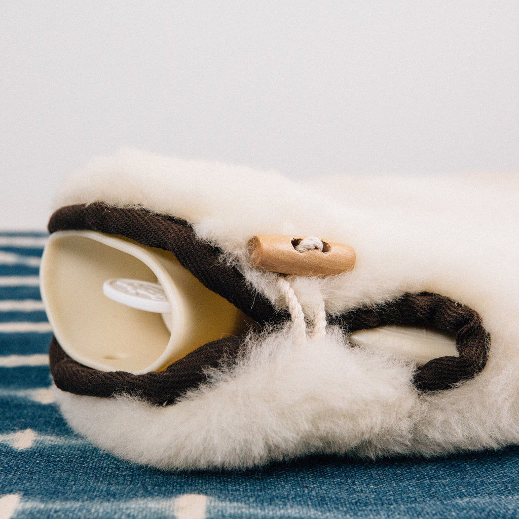 SHEEPSKIN HOT WATER BOTTLE