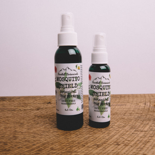 FOOTHILL BOTANICALS || MOSQUITO SHIELD