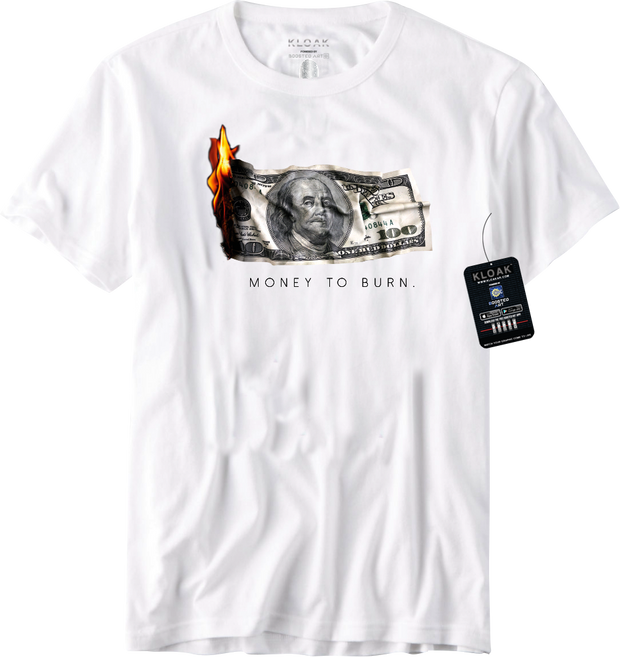 Money To Burn Augmented Reality T-Shirt