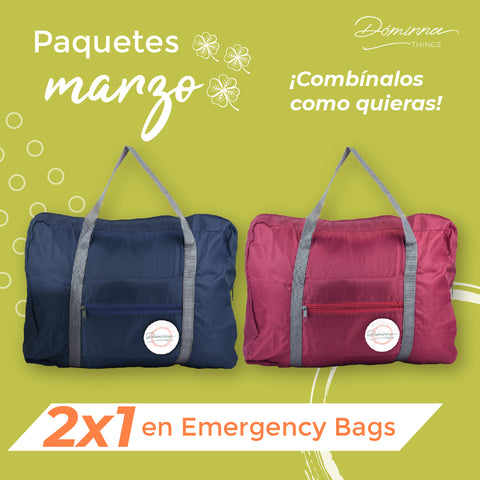 emergncy bag covid promo 2x1