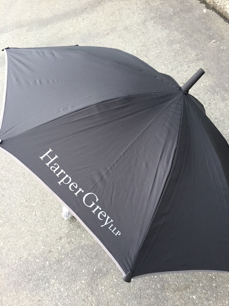 Best Gifts for Law Firm Clients:  Custom Umbrellas