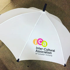 Custom logo printed umbrella ICA