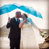 Custom weddding umbrellas