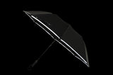 Designer Reflective Trim 2F Compact Umbrella