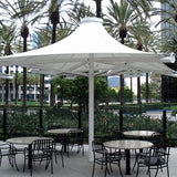 Permanent Architectural Tensile Membrane Umbrella