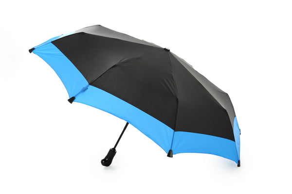Traveller's Compact Umbrella With Collar