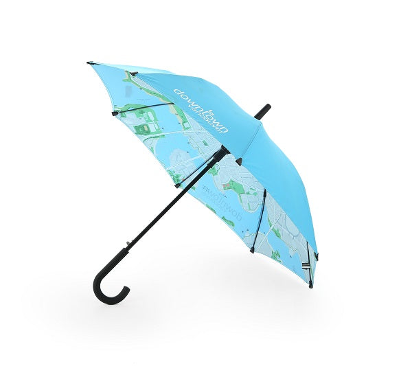 Classic Long Umbrella With Digital Print