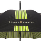 custom umbrella striped interior peller