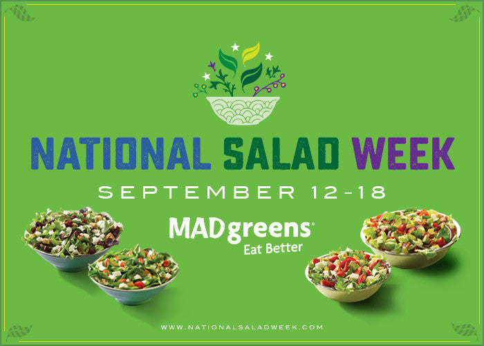 National Salad Week // Sept 12-18