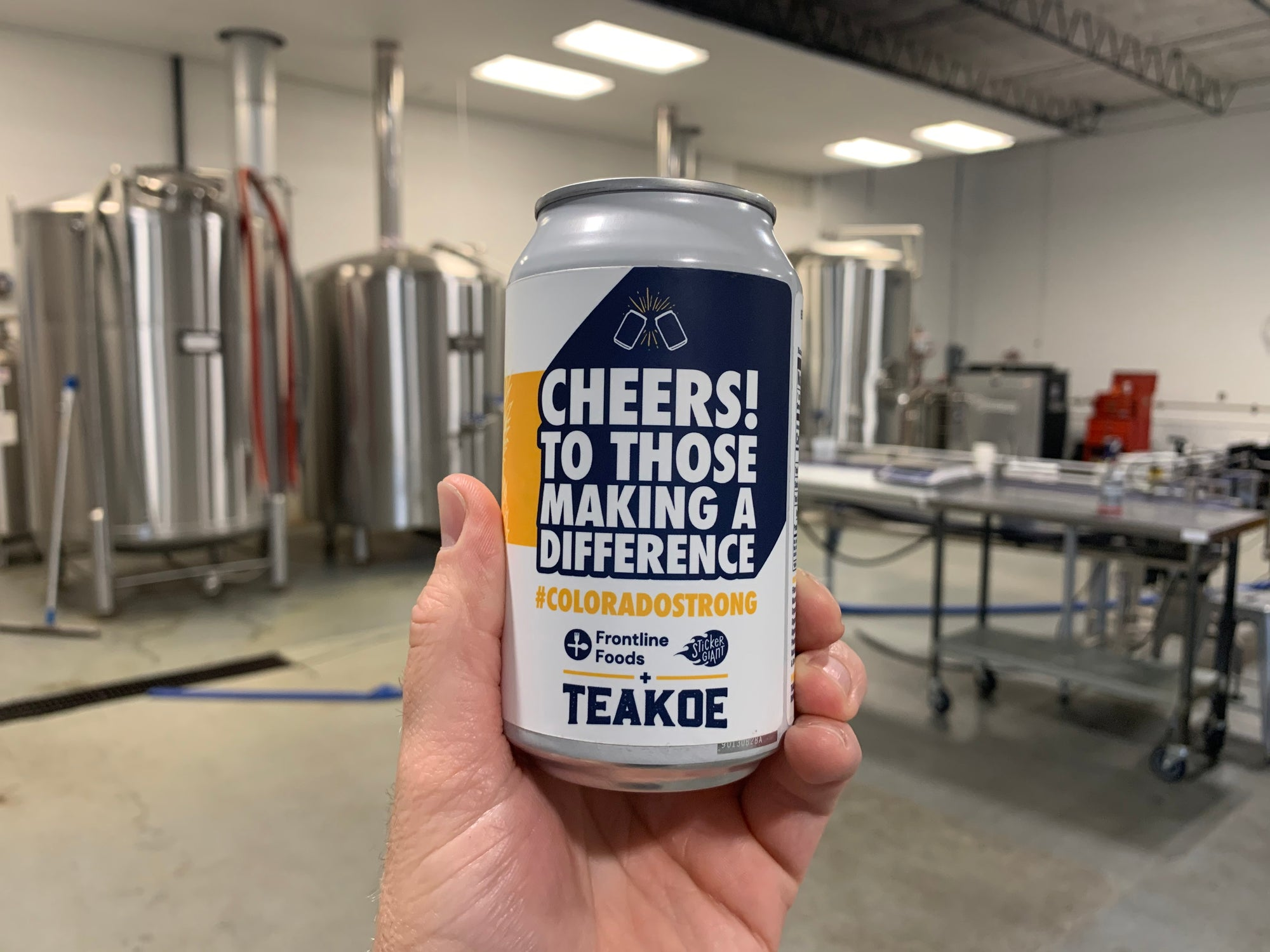 TEAKOE DONATES FIZZY TEA TO SUPPORT LOCAL FRONT LINE & ESSENTIAL WORKERS
