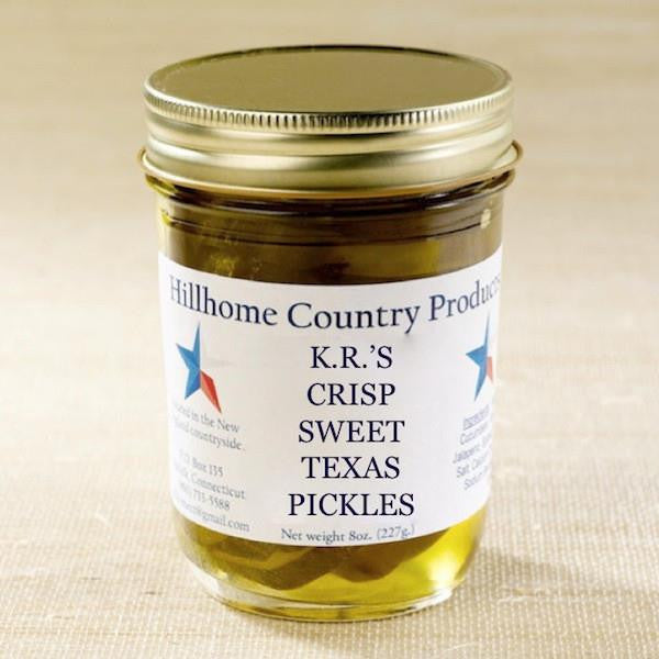 Sweet Texas Pickles