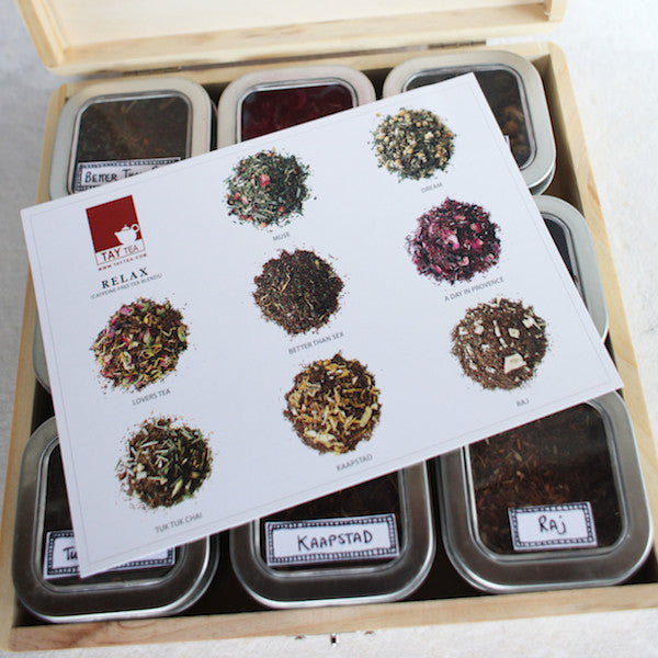 Relax Tea Sample Box