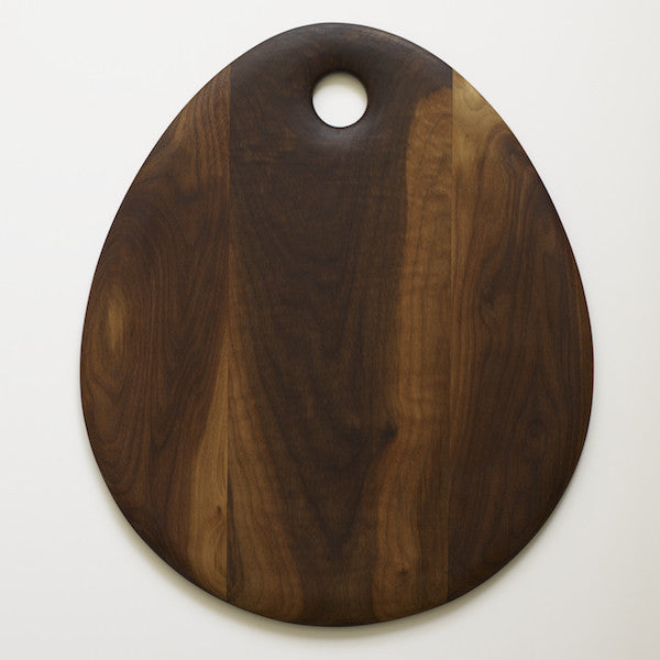 Oval Walnut Board