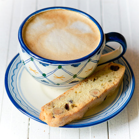 Lemon Hazelnut Biscotti