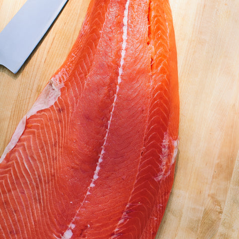 Wild King Salmon Fillet