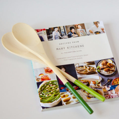 Cookbook and Spoons