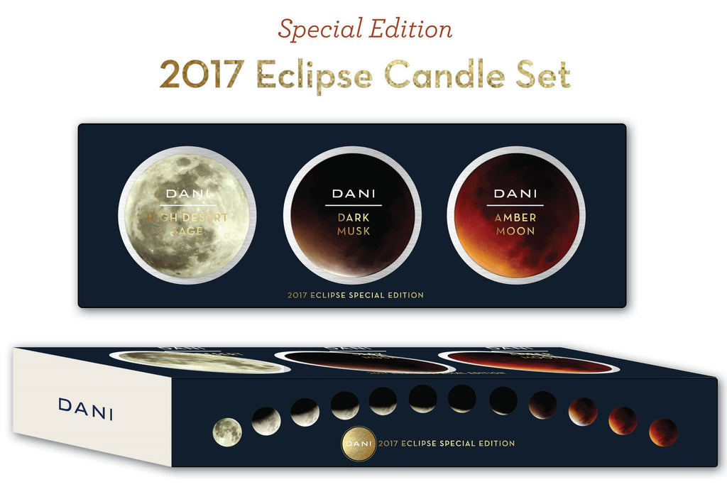 DANI Naturals releases special edition candle set in honor of Total Solar Eclipse 2017