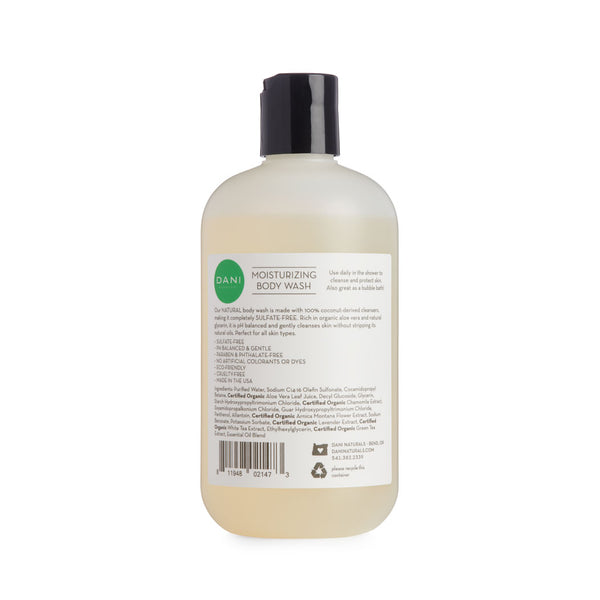 Bamboo Bergamot Body Wash - 12 oz