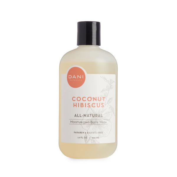 Coconut Hibiscus Body Wash - 12 oz