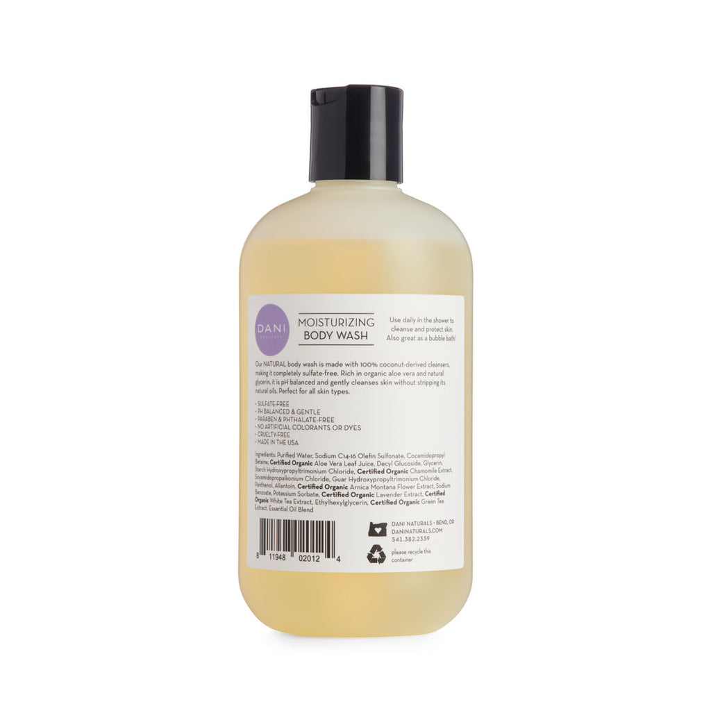 Lemongrass Lavender Body Wash - 12 oz