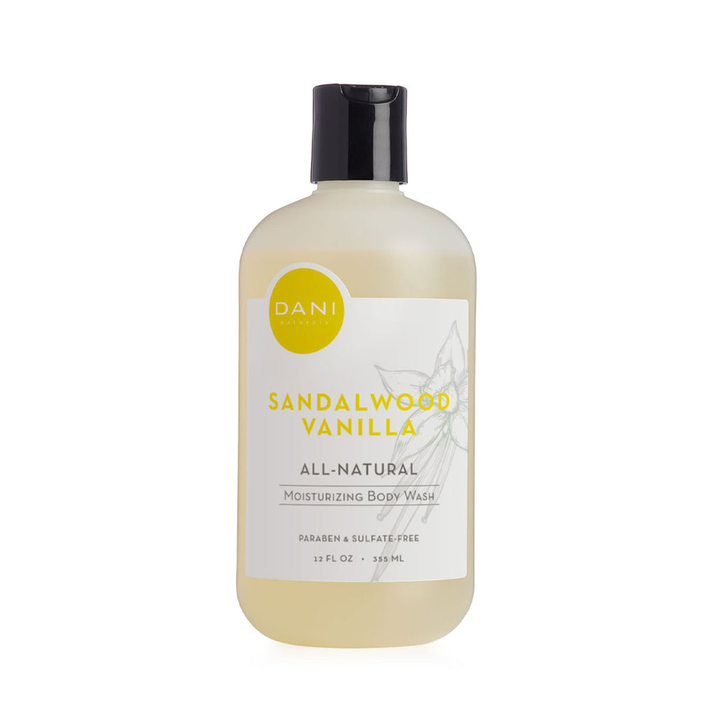 Sandalwood Vanilla Body Wash - 12 oz