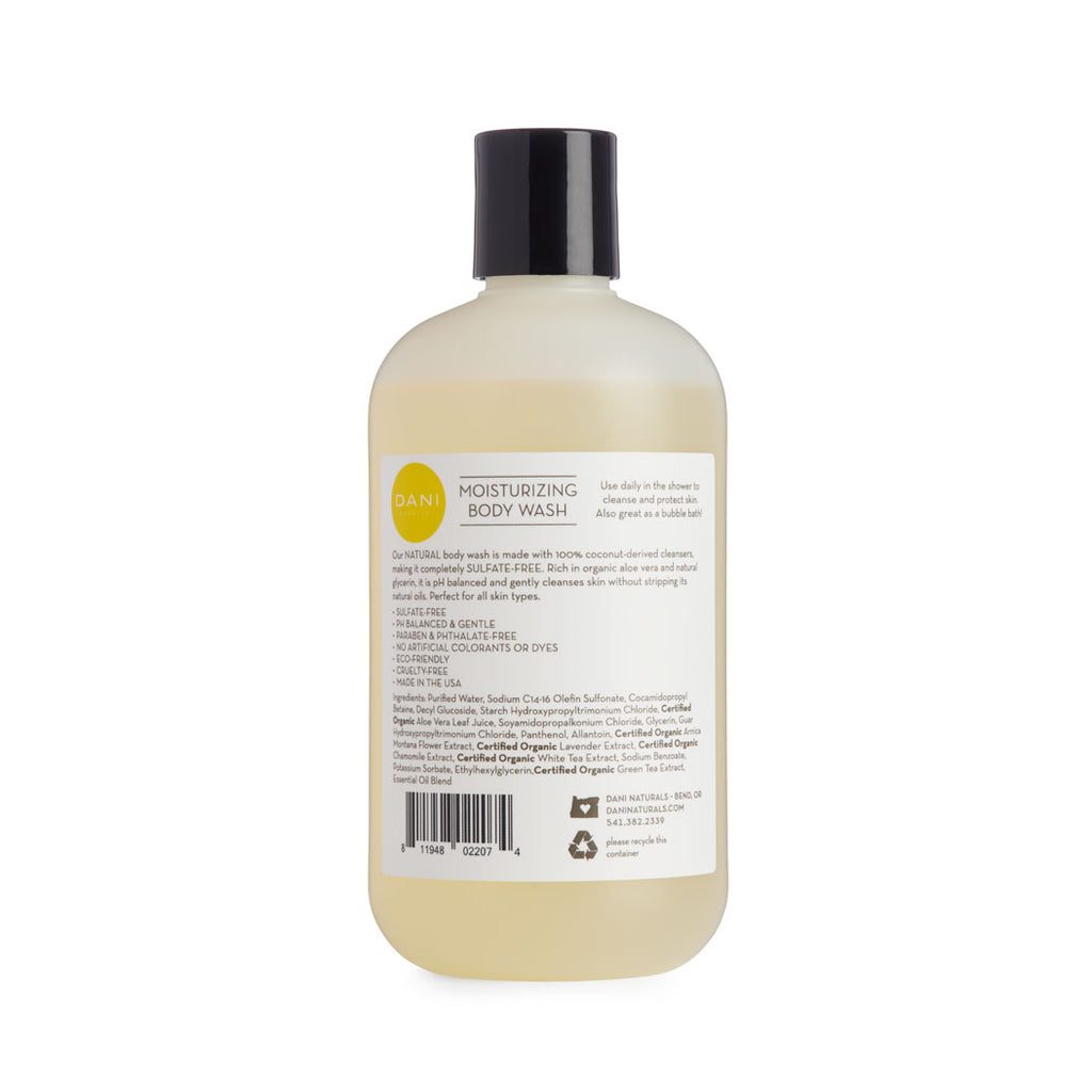 Sandalwood Vanilla Body Wash