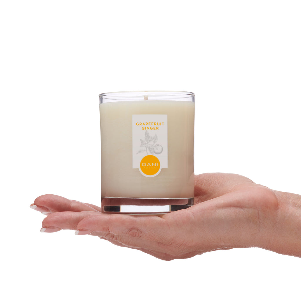 Grapefruit Ginger Scented Soy Candle