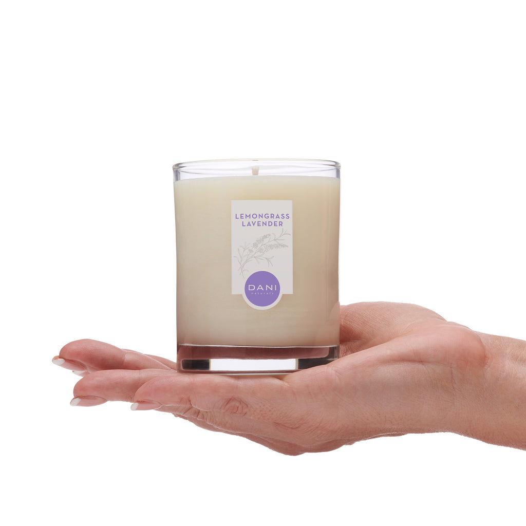 Lemongrass Lavender Natural Soy Candle