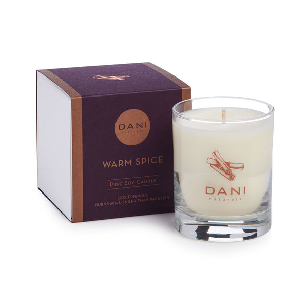 Warm Spice Holiday Scented Soy Candle - 7.5 oz