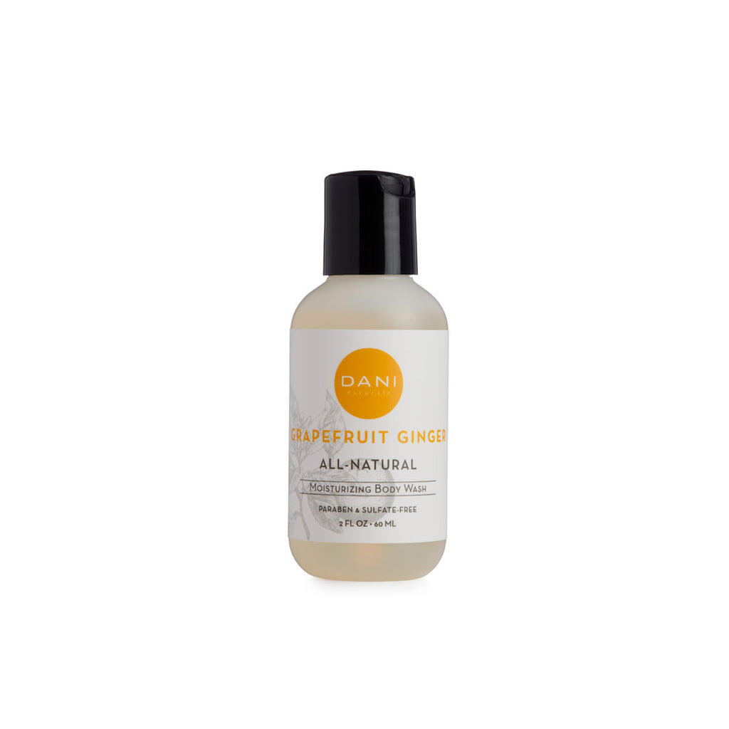 Grapefruit Ginger Travel Size Body Wash - 2 oz