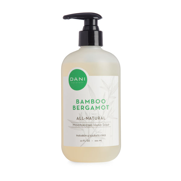 Bamboo Bergamot Liquid Hand Soap - 12 oz