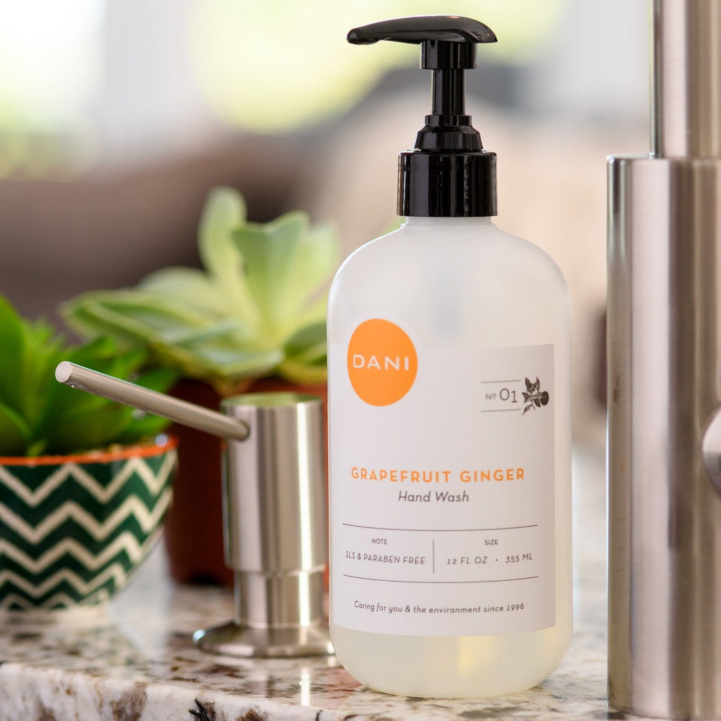 Grapefruit Ginger Liquid Hand Soap - 12 oz