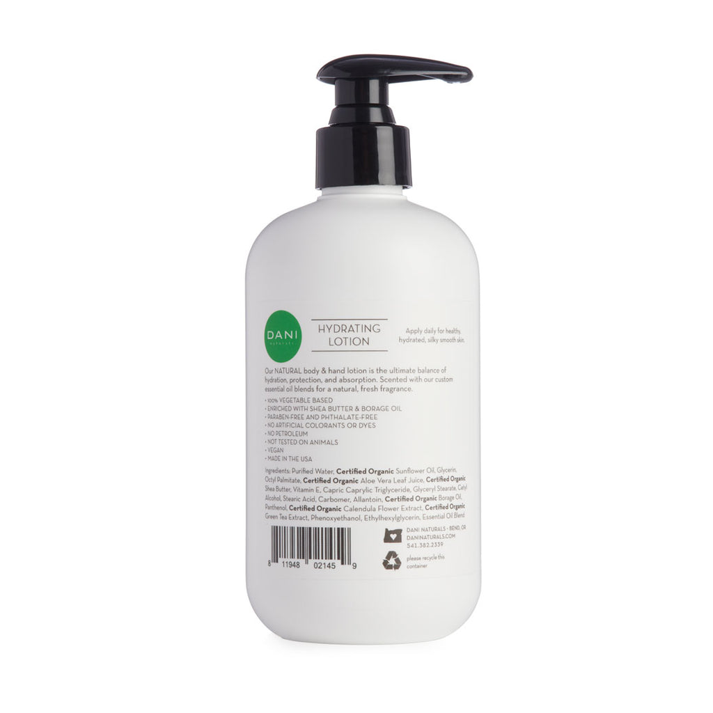 Bamboo Bergamot Hand & Body Lotion - 12 oz