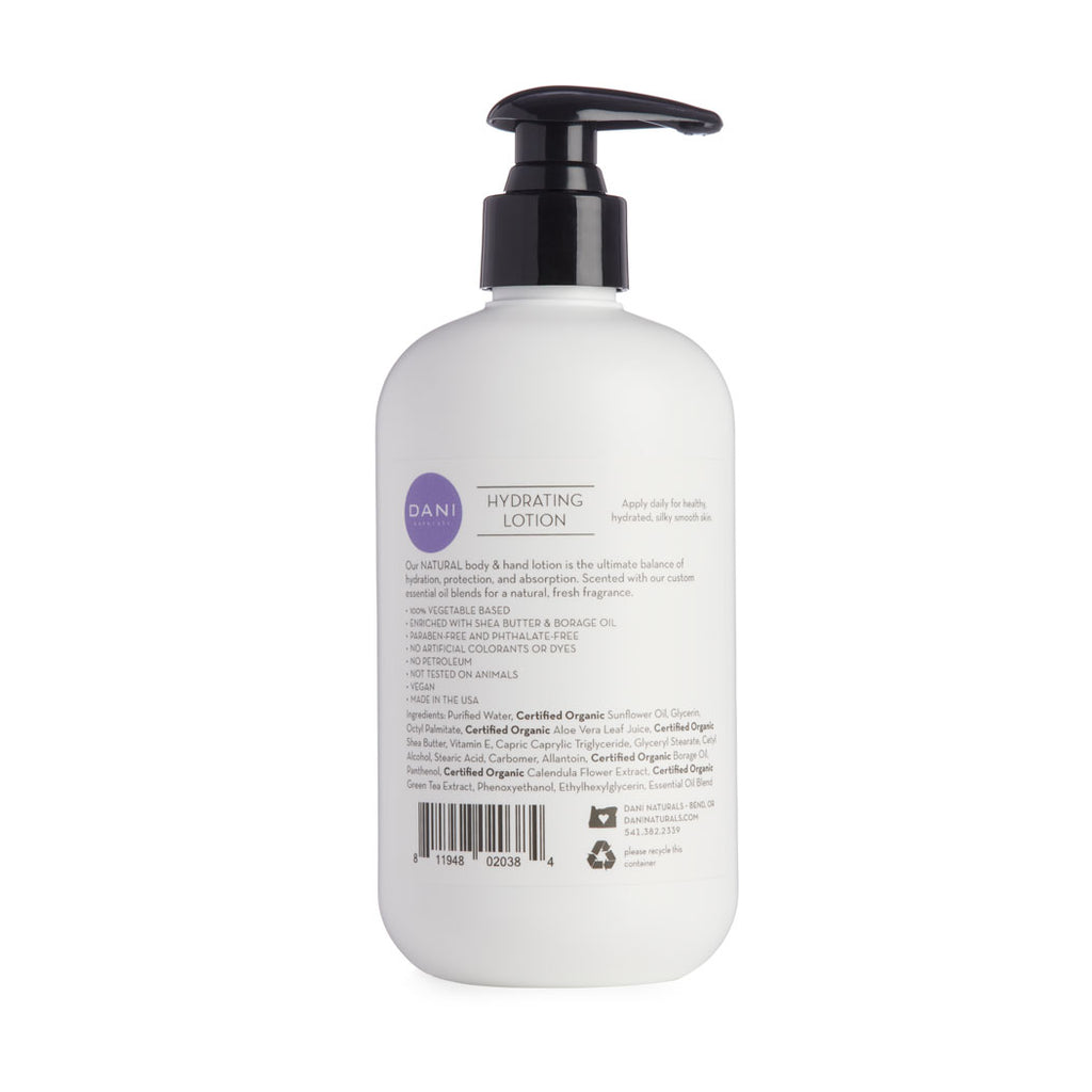 Lemongrass Lavender Lotion
