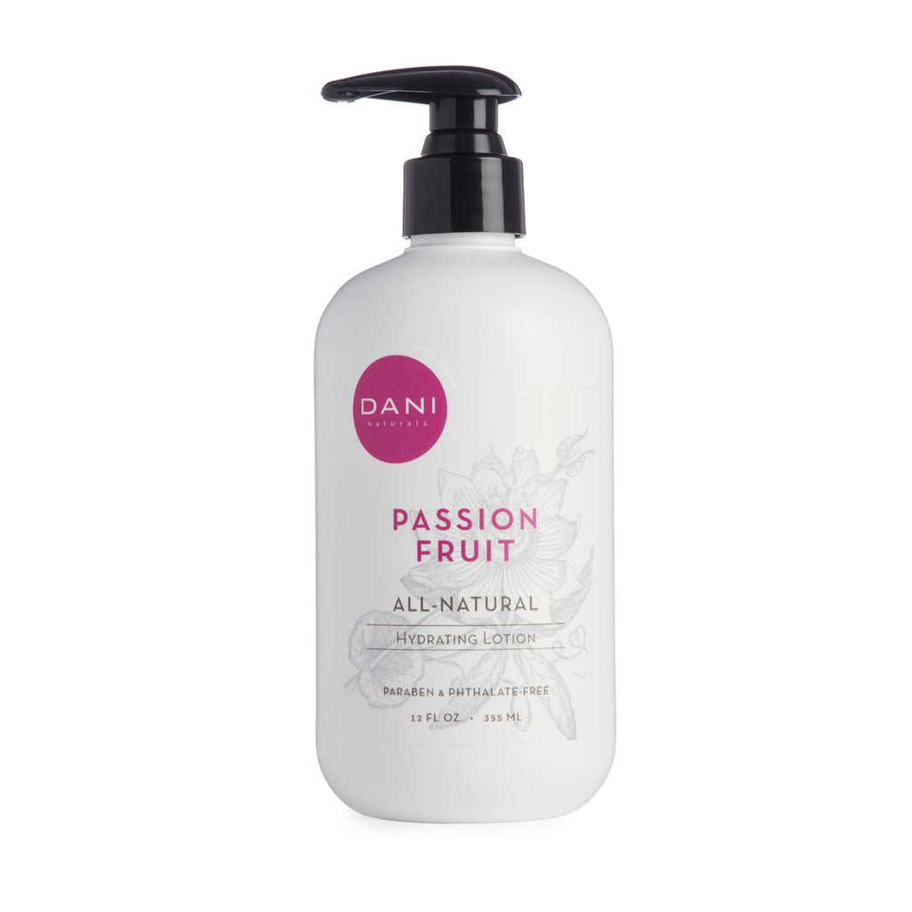 Passion Fruit Scented Body & Hand Lotion - 12 oz