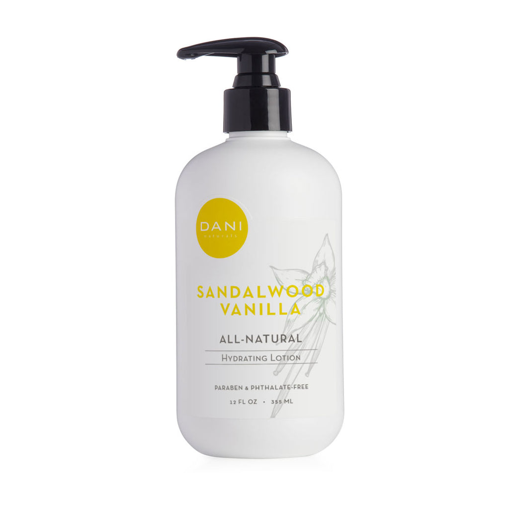 Sandalwood Vanilla Hand & Body Lotion - 12 oz