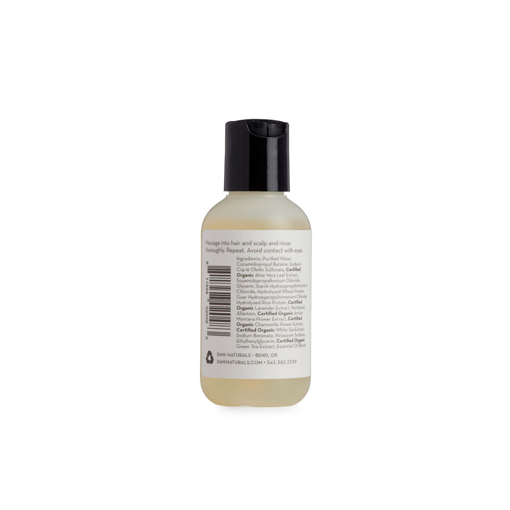 Grapefruit Ginger 2oz Travel Size Shampoo