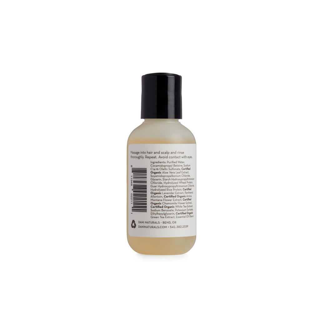 Sandalwood Vanilla 2oz Travel Size Shampoo