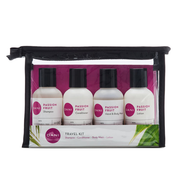 Passion Fruit Travel Size Toiletries Kit