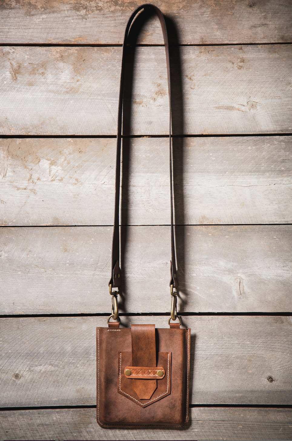 Crossbody - Antique Brown