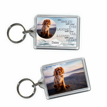 Load image into Gallery viewer, Dog Memorial Keyring #2