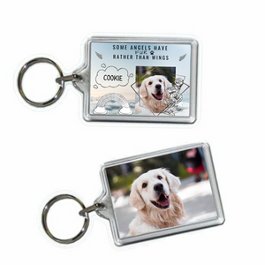 Dog Memorial Keyring #3