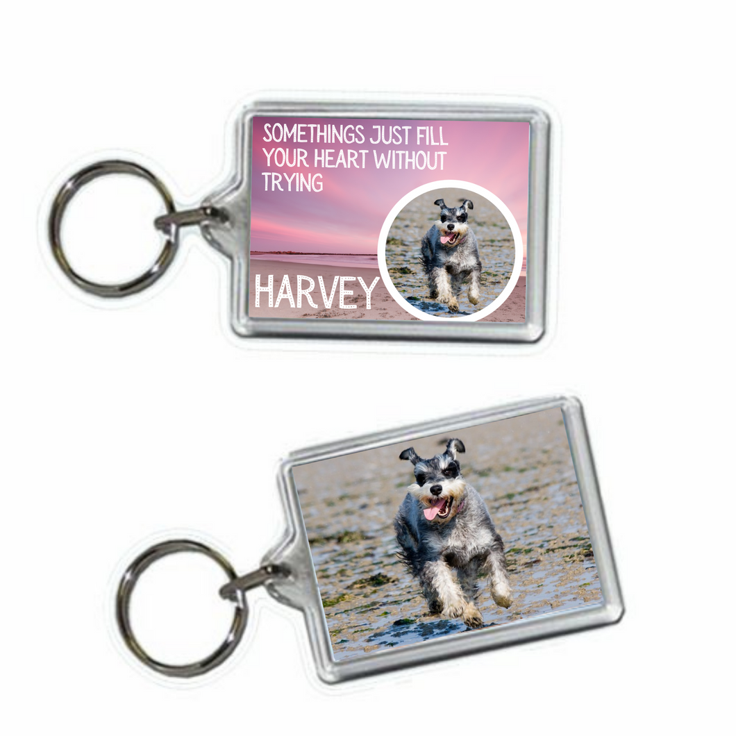 Dog Memorial Keyring #5