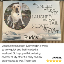 Load image into Gallery viewer, Beautiful Dog Memorial Canvas 1
