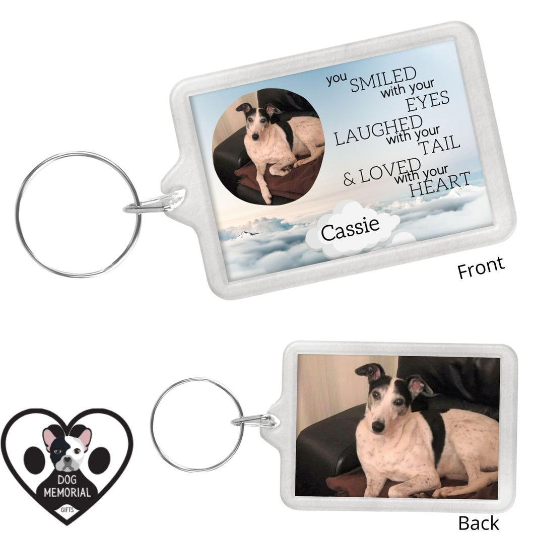 Dog Memorial Keyring #2