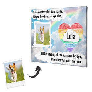 Dog Memorial Canvas #4